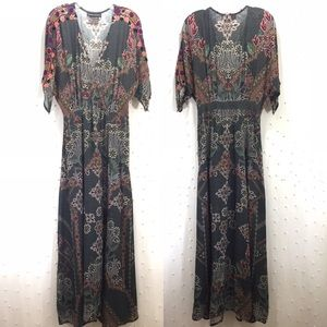 Anthropologie Hemant & Nandita Maxi Dress Sz M